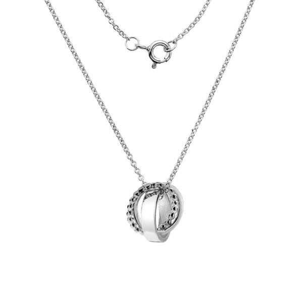 Entwined Circles Necklace