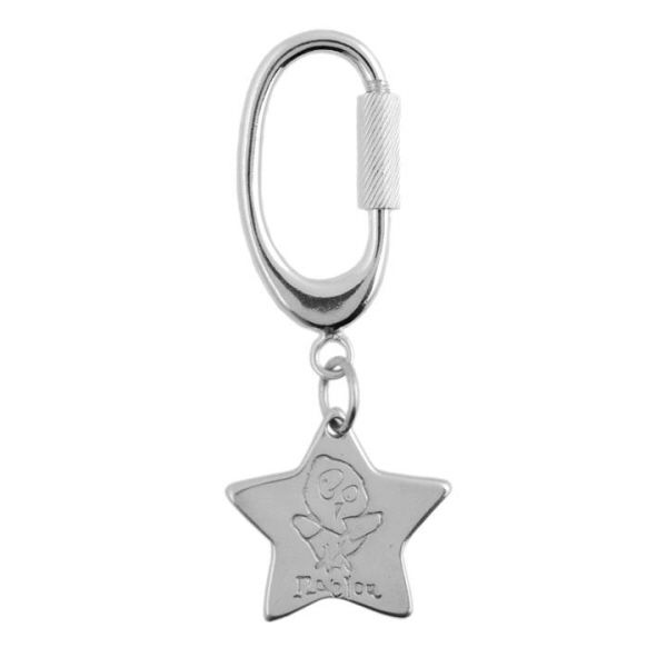 Large Artwork Key Ring