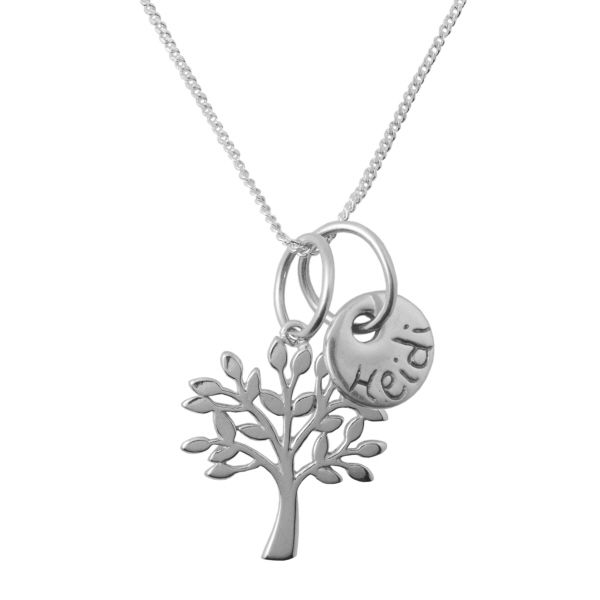 Personalised Tree Necklace